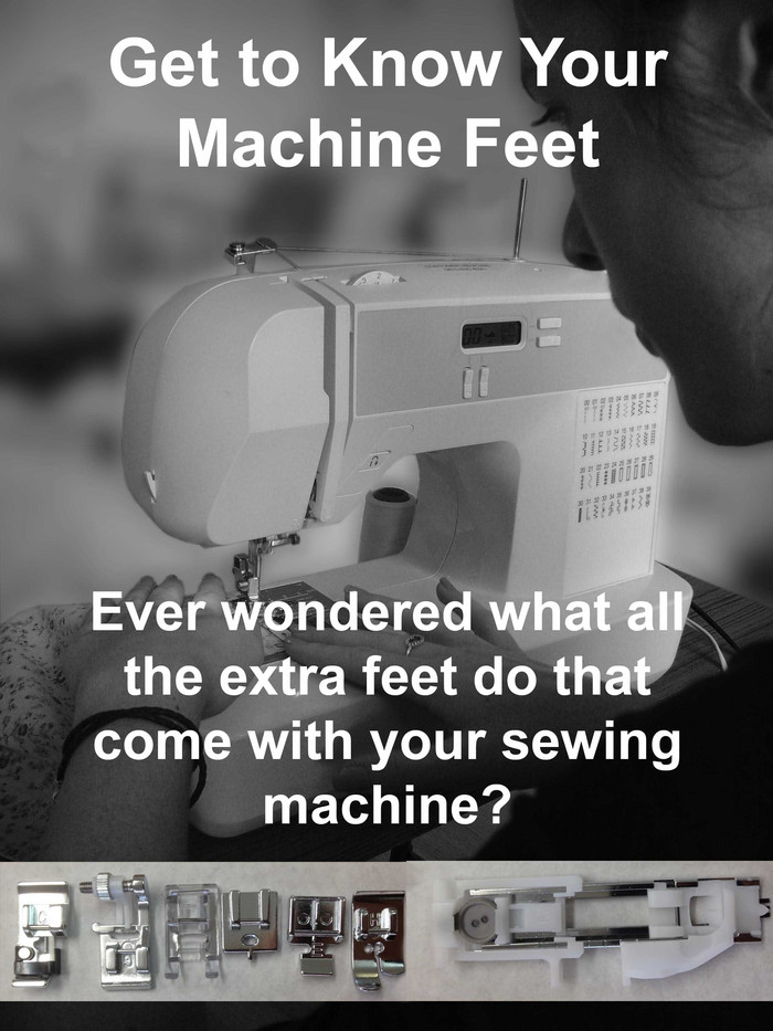 Get to know your Machine Feet