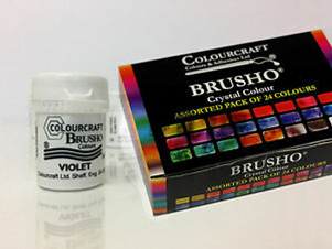 Brusho Painting Techniques