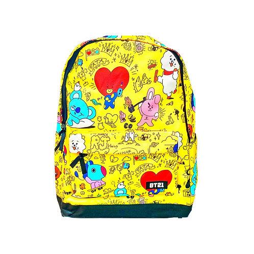 BTS School bag (Yellow)
