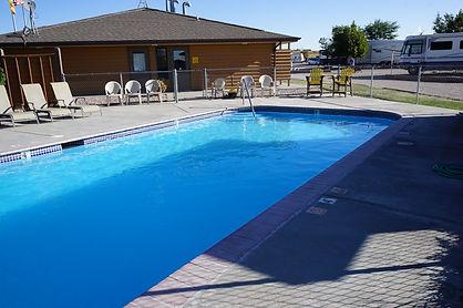 Pool & Building