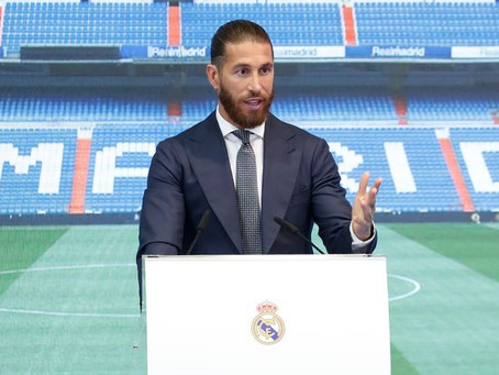 After 16 Years at Real Madrid, Sergio Ramos' Contract Won't Be Renewed