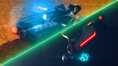 SciGFi Pistol VFX