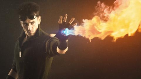 Repulsor Flamethrower