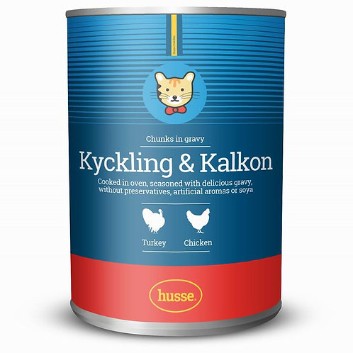 Kyckling & Kalkon 400гр