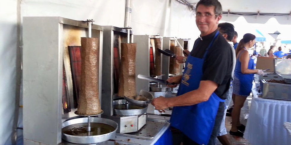 Cardiff Greek Festival 2018, Sunday Sept. 9, 2018  -- ONLINE SALES END AT NOON!