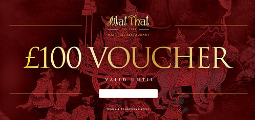 Mai Thai Gift Voucher 100