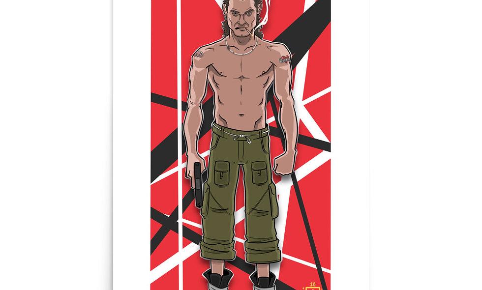 Eddie Van Halen (Poster)