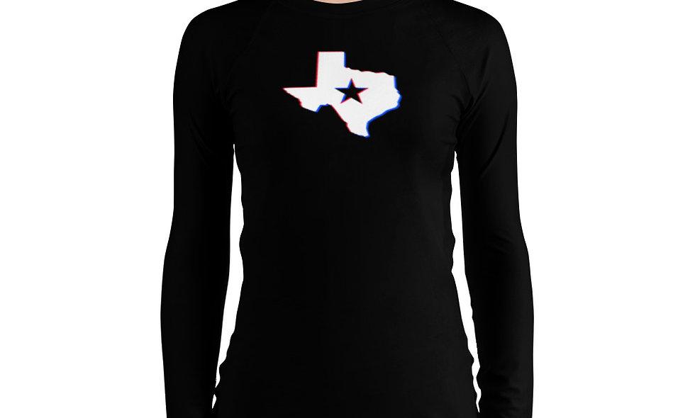 Texas BJJ Rashguard (Women's)
