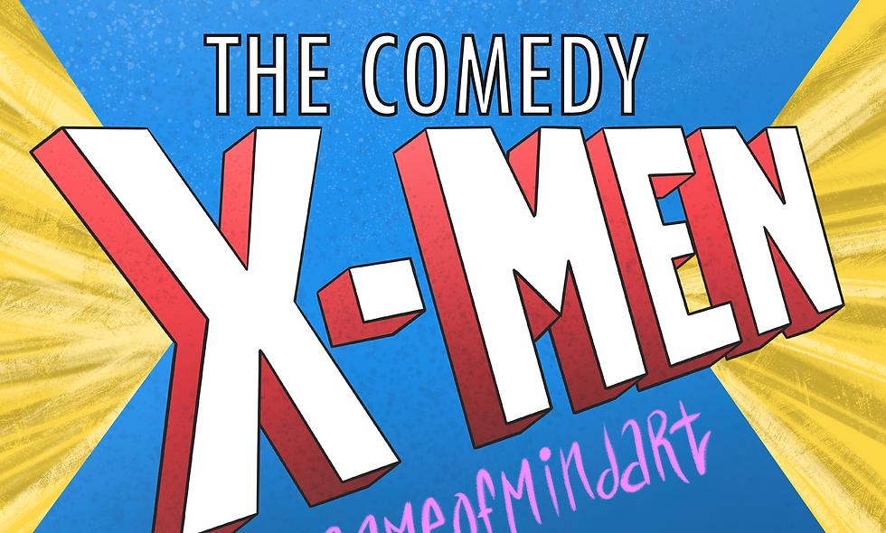 Comedy X-Men: Coloring Book (Part I)