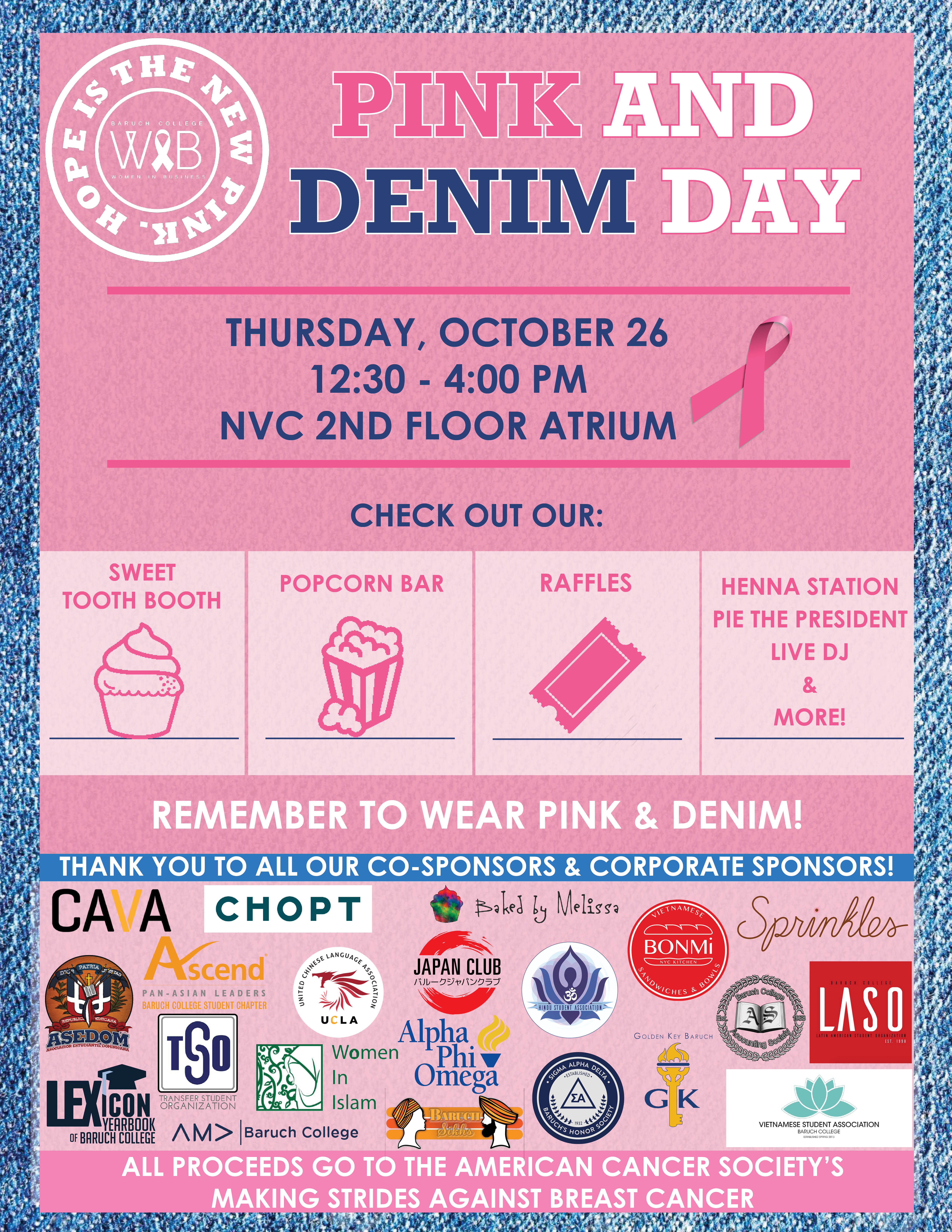 Pink and Denim Day