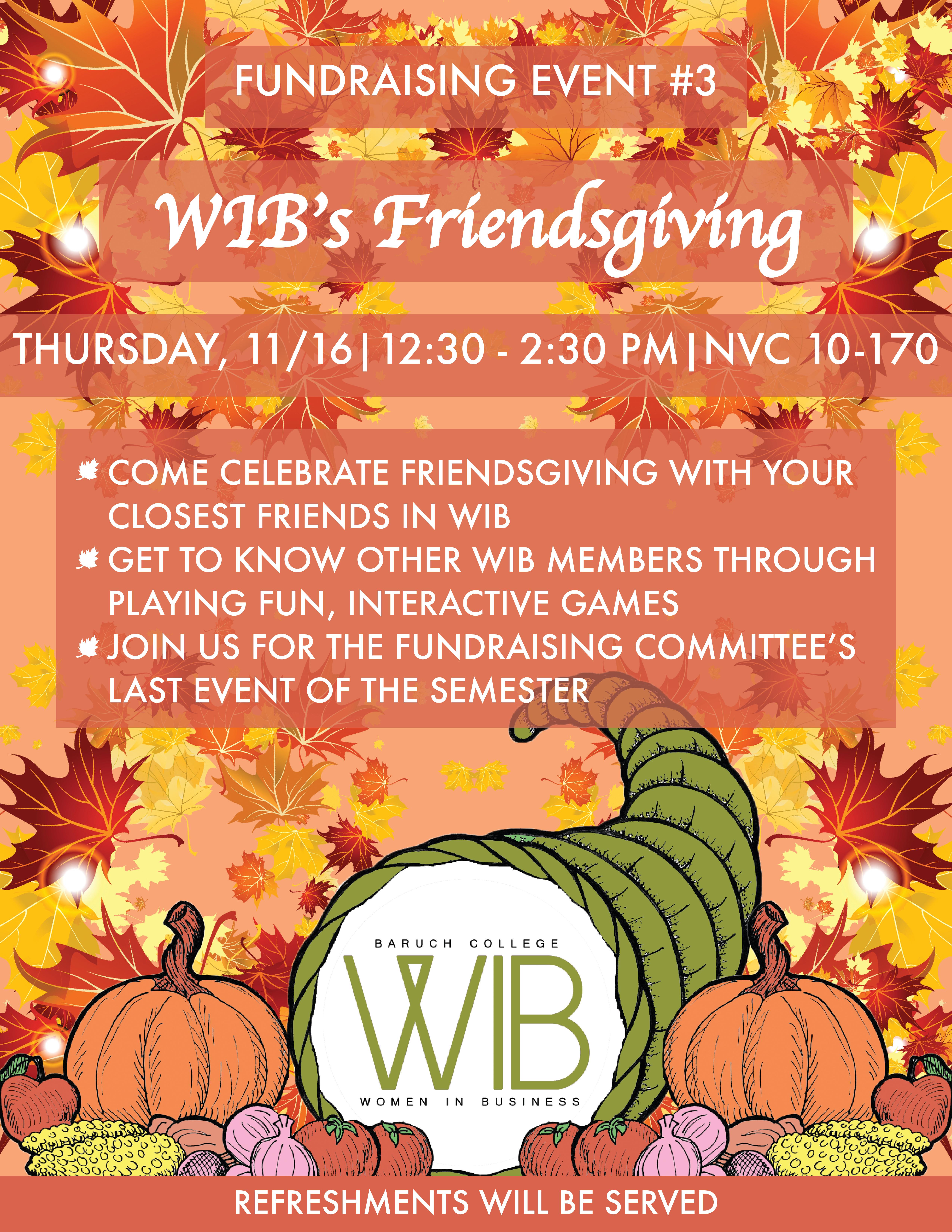 WIB's Friendsgiving