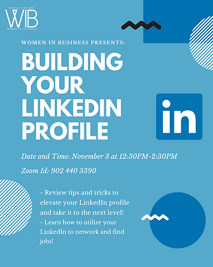 11/3 Building Your LinkedIn Profile