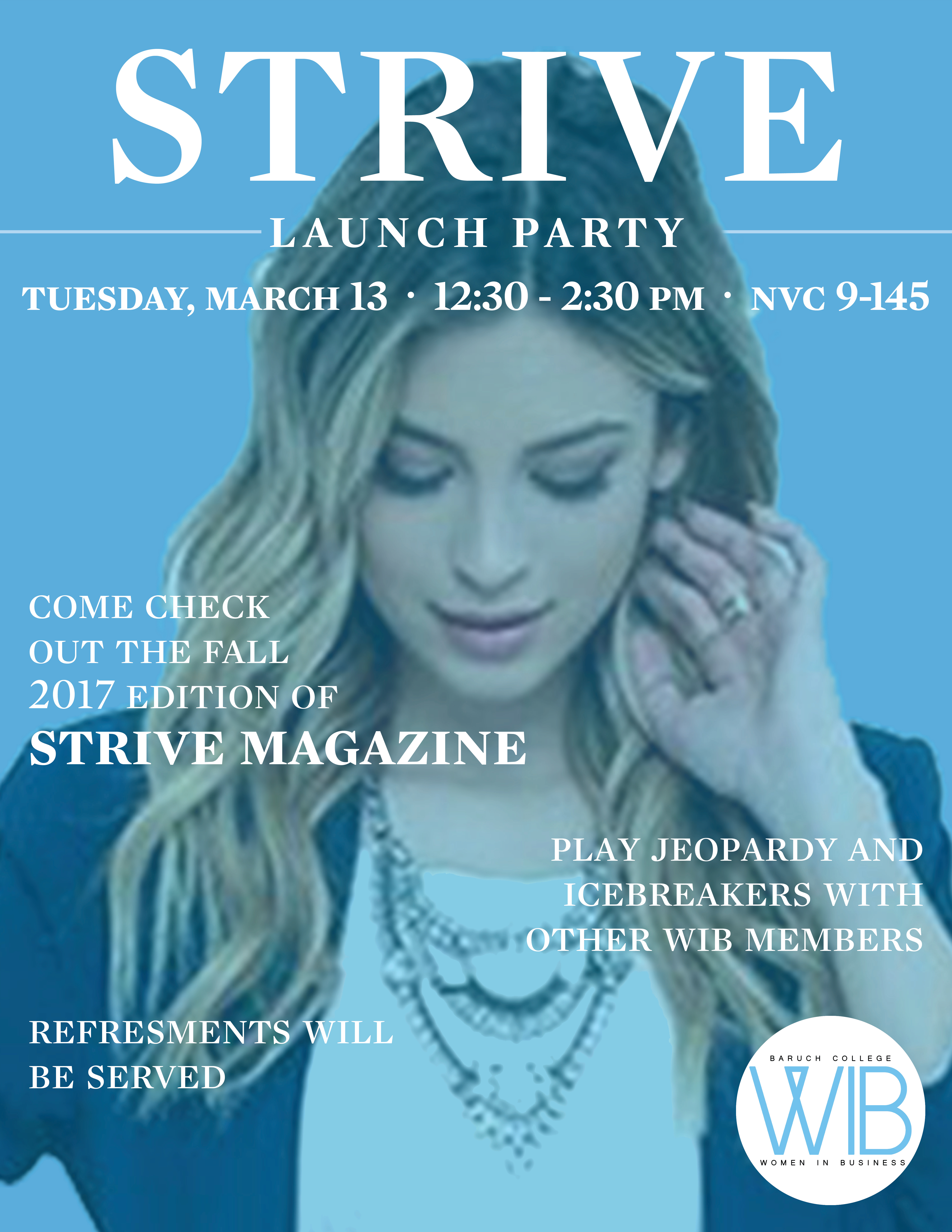 STRIVE Launch Party