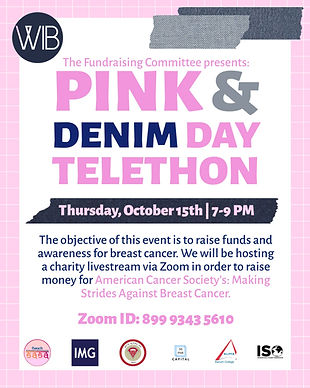 10/15 Pink and Denim Day