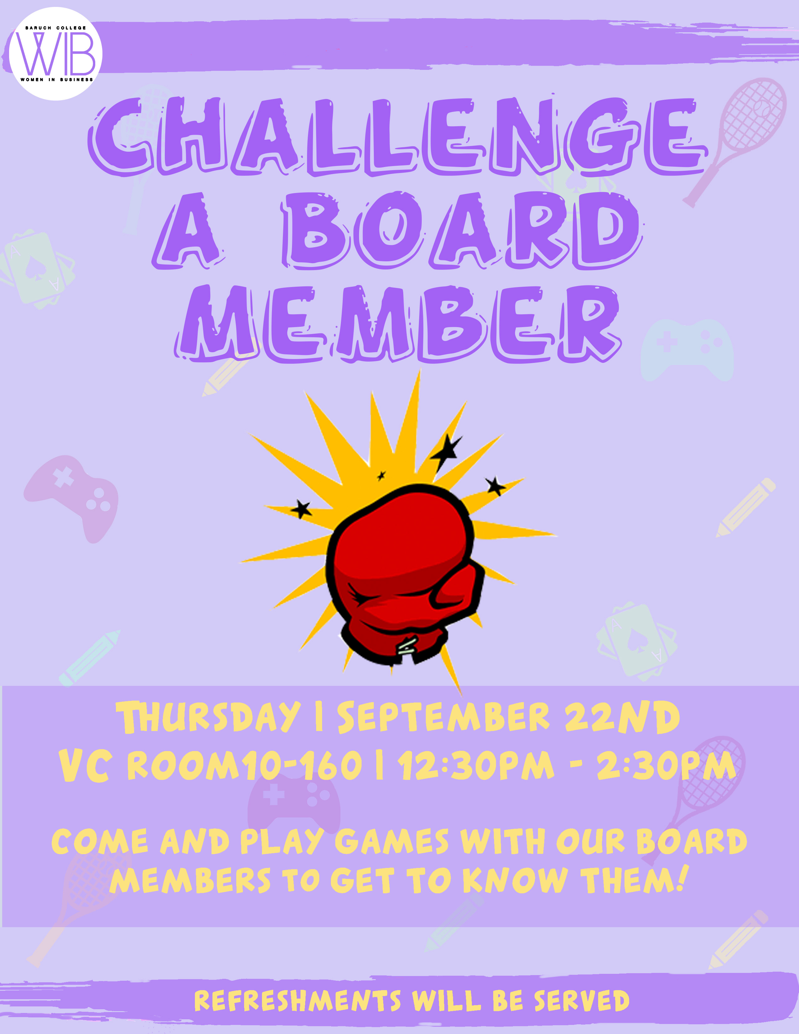 Challenge a Board Member