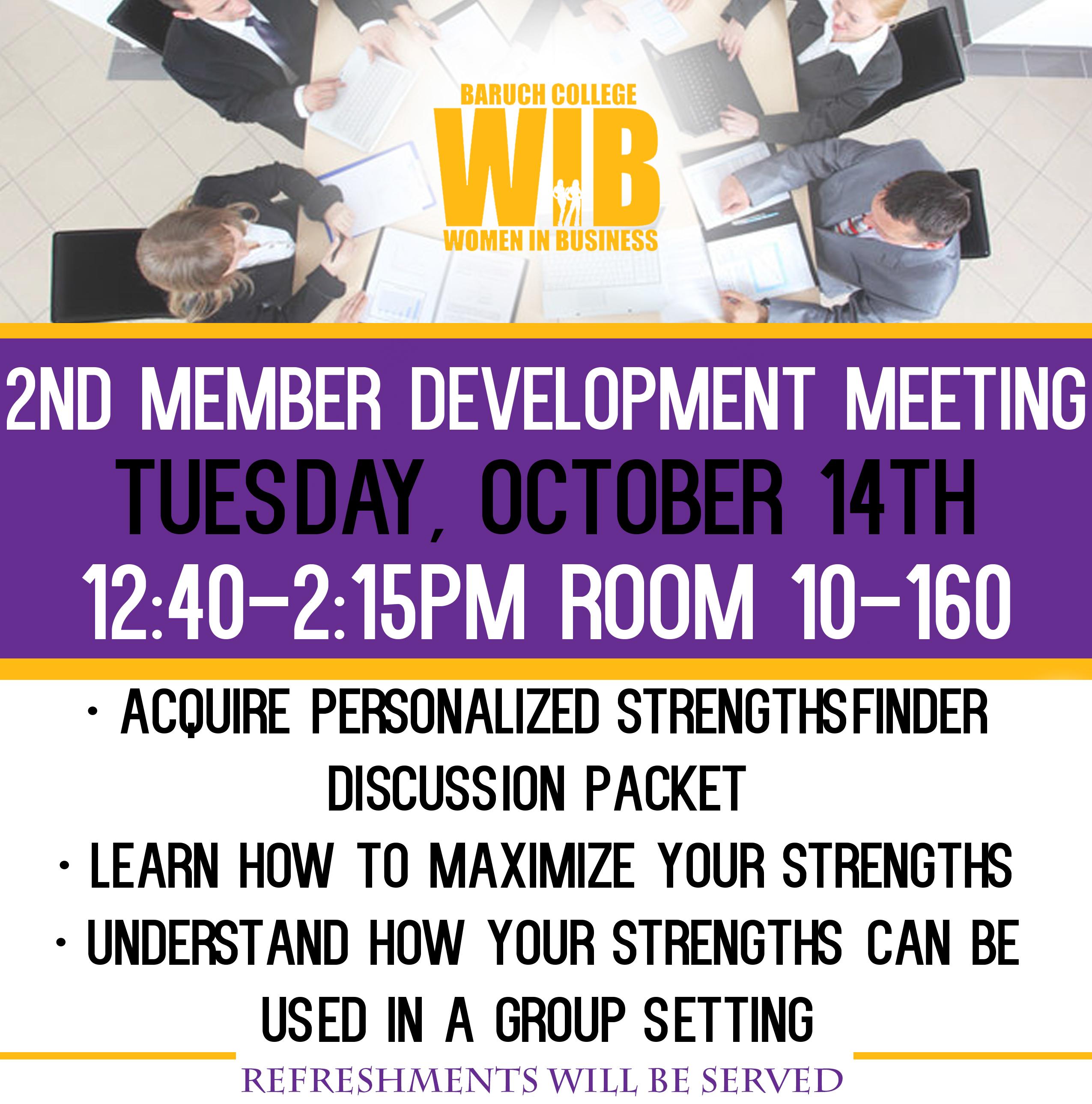 Member Development