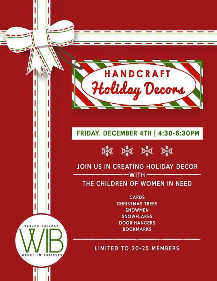 Handcraft Holiday Decor