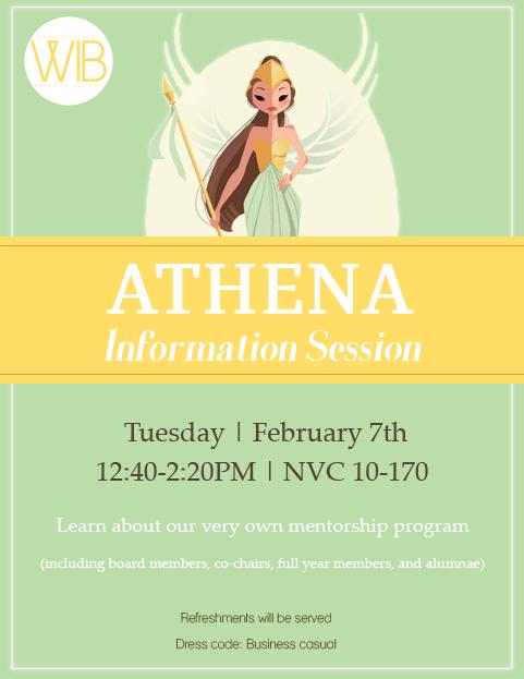 ATHENA Info Session