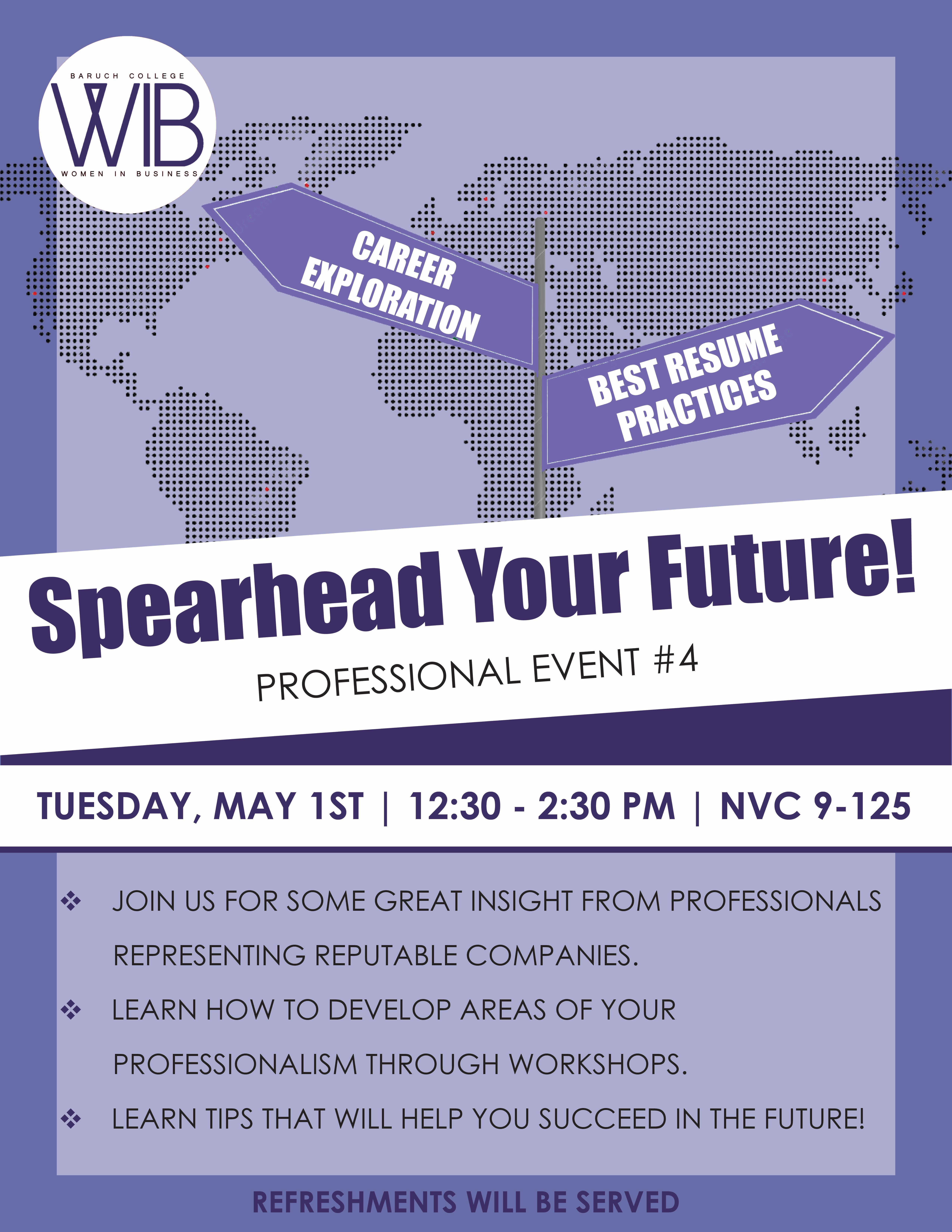 Spearhead Your Future!