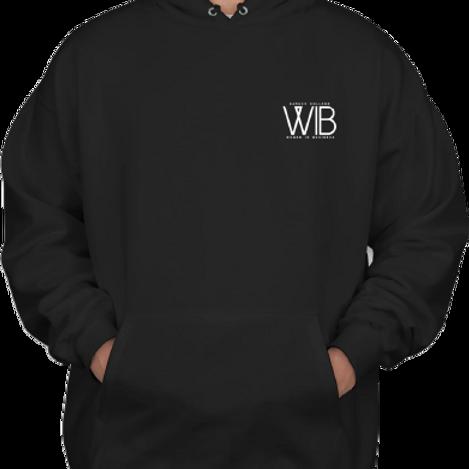 WIB Hoodie in Black Print