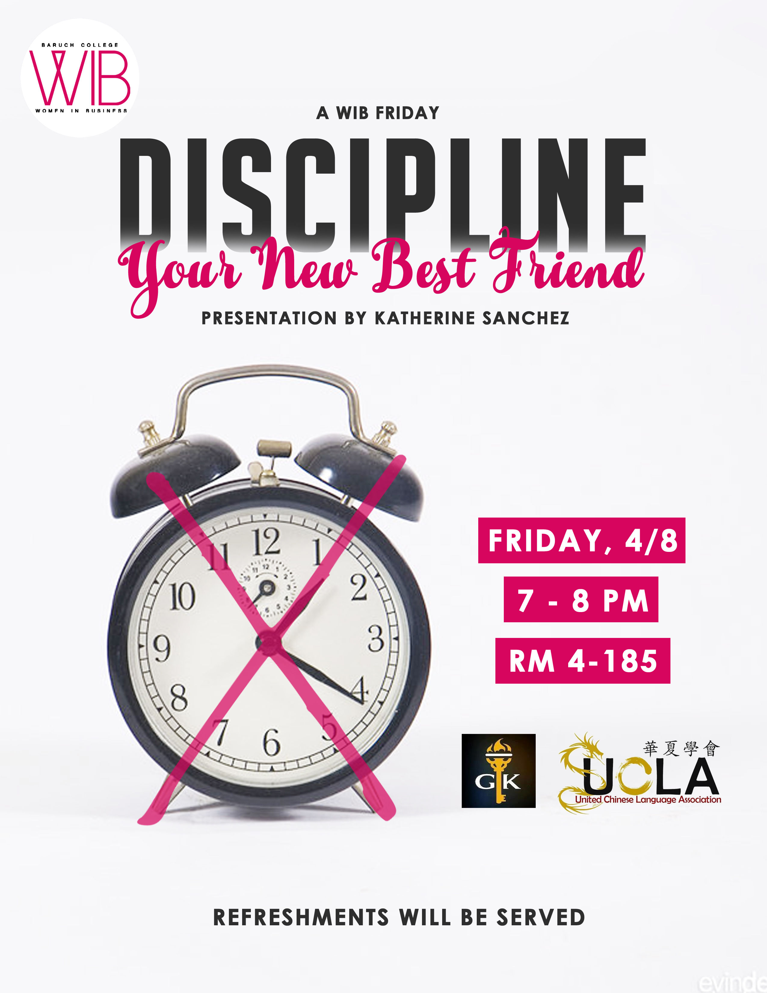 Discipline: your new best friend