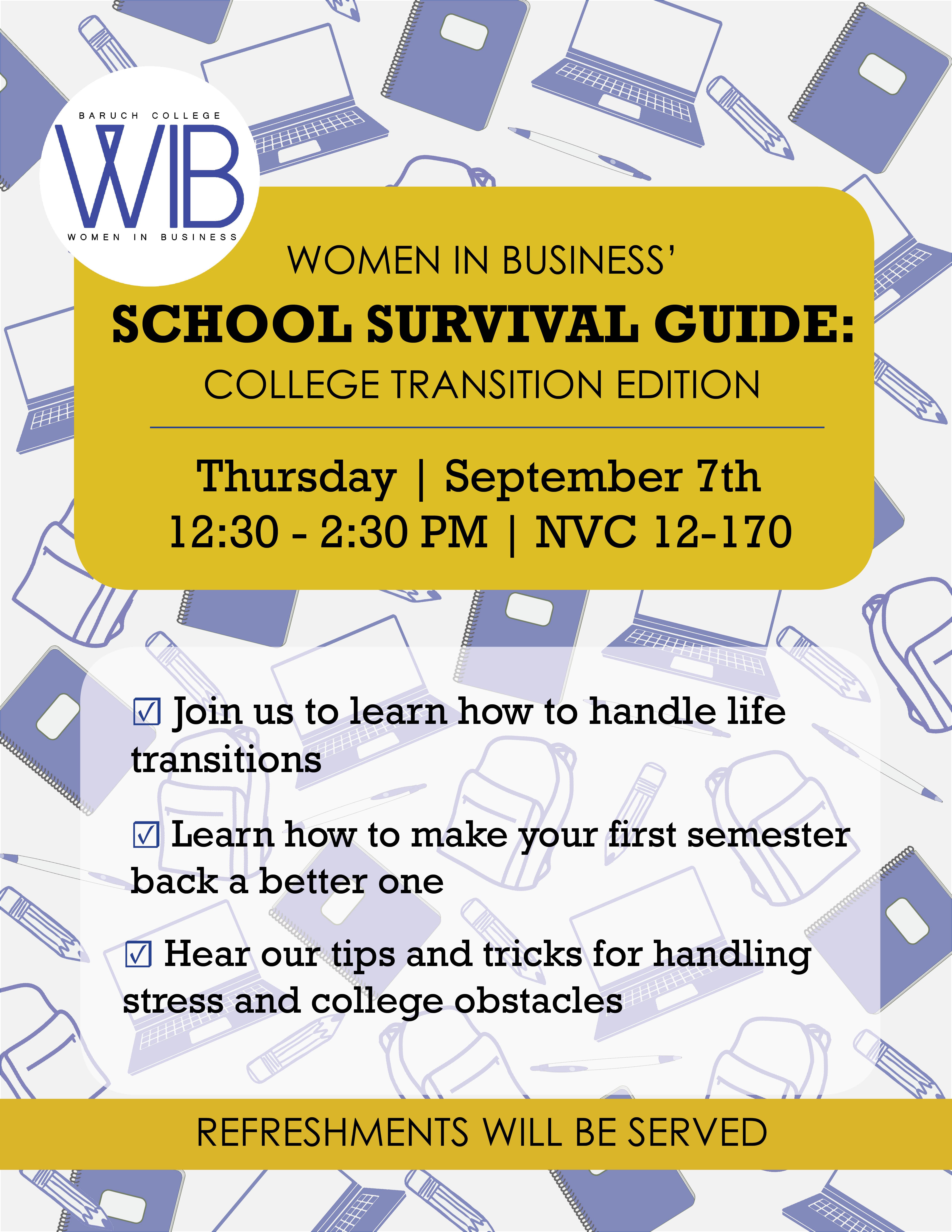 School survival guide