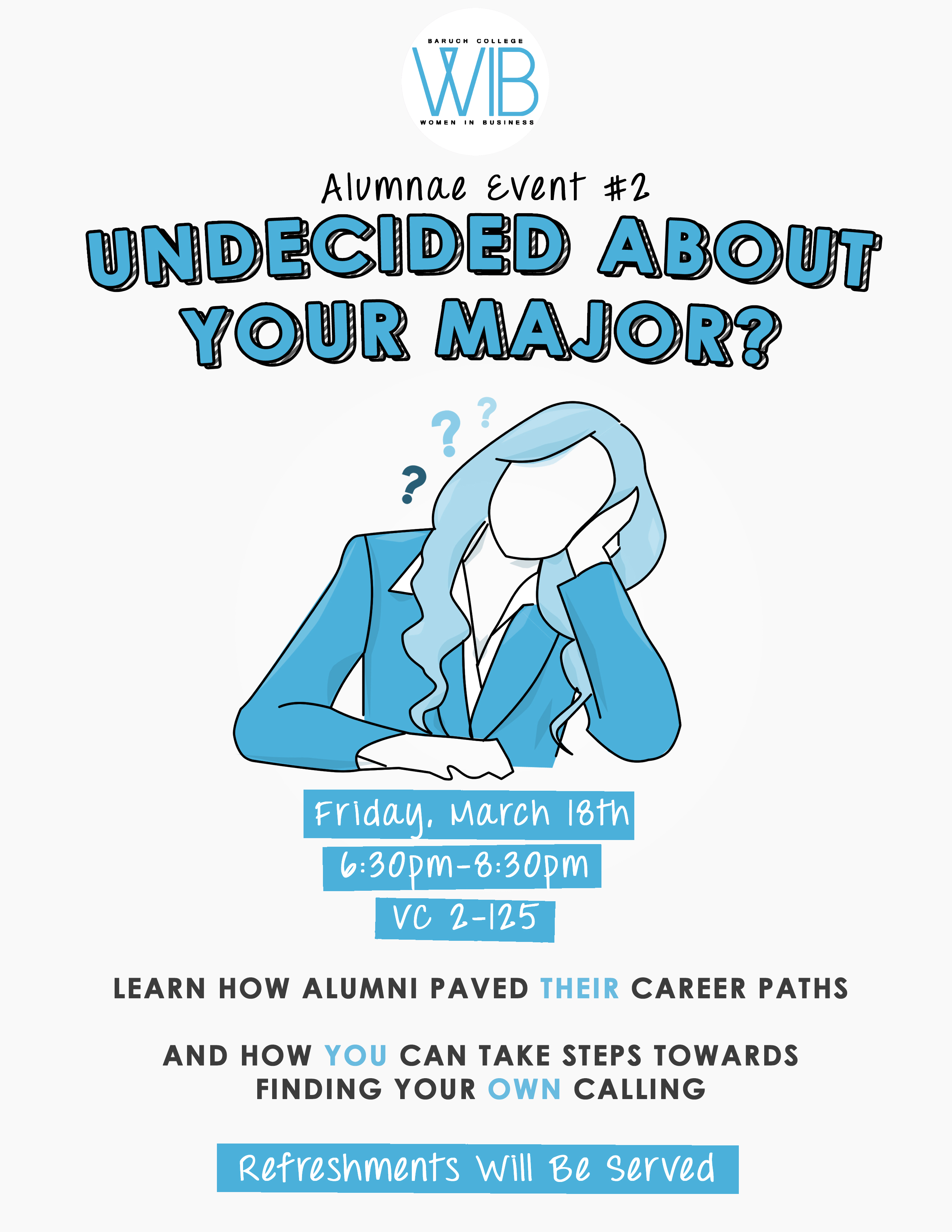 Undecided about your major
