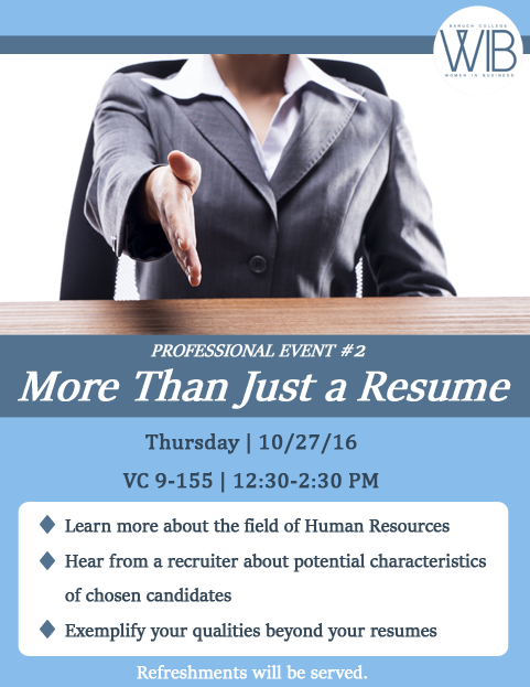 More than Just a Resume