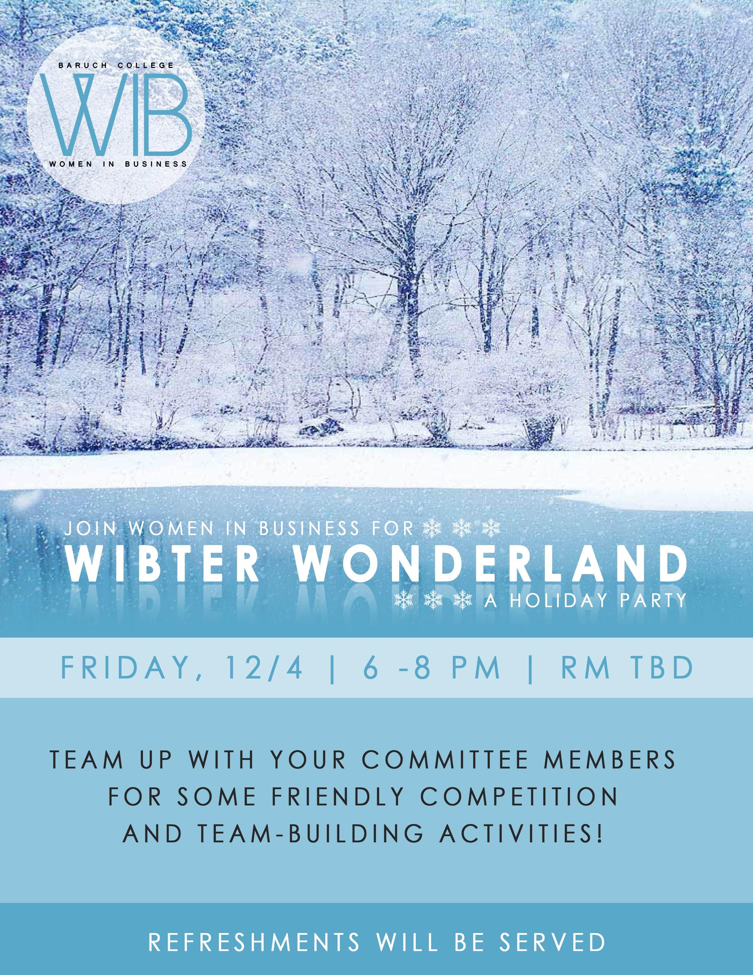 Wibter Wonderland
