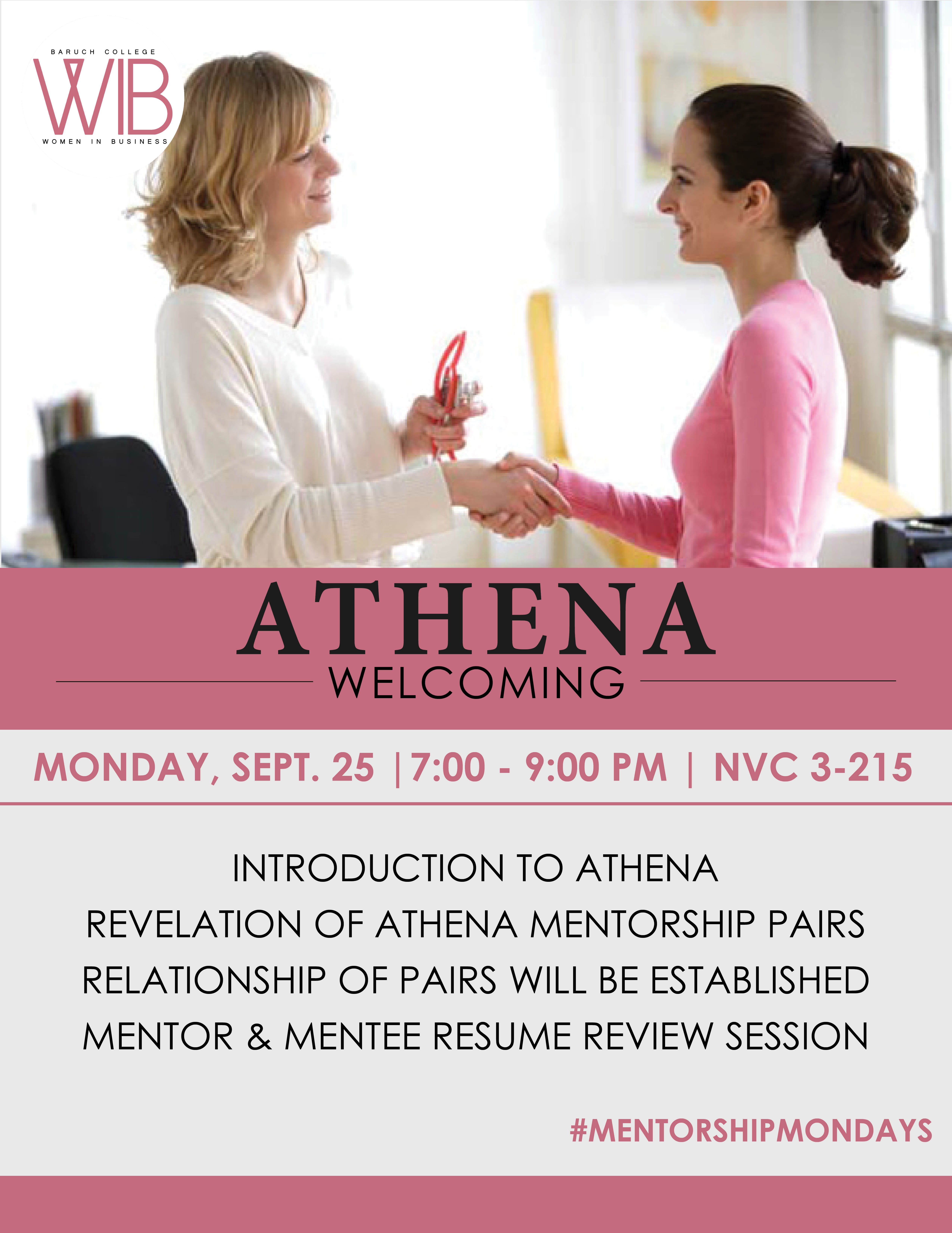 ATHENA welcoming