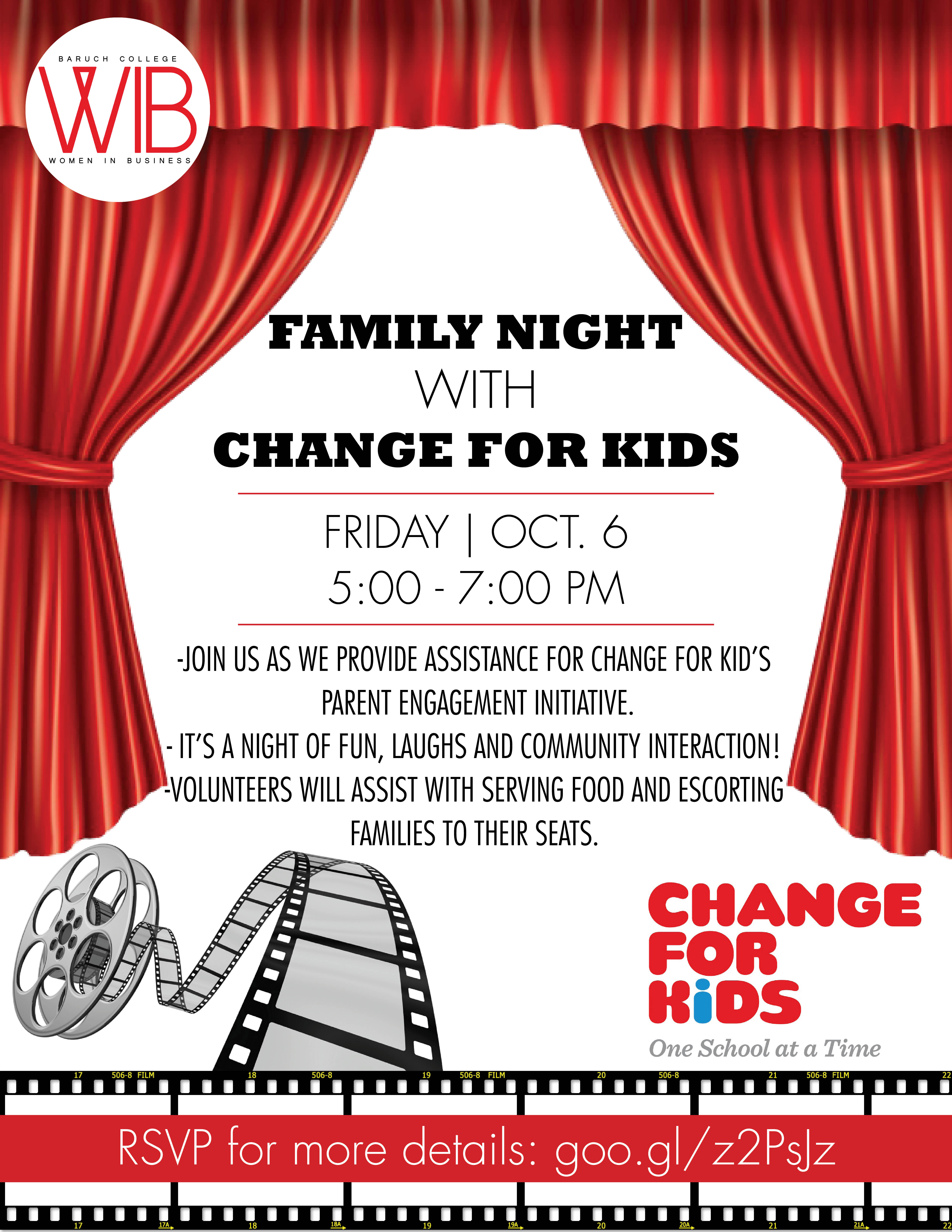 Family Night with Change for Kids