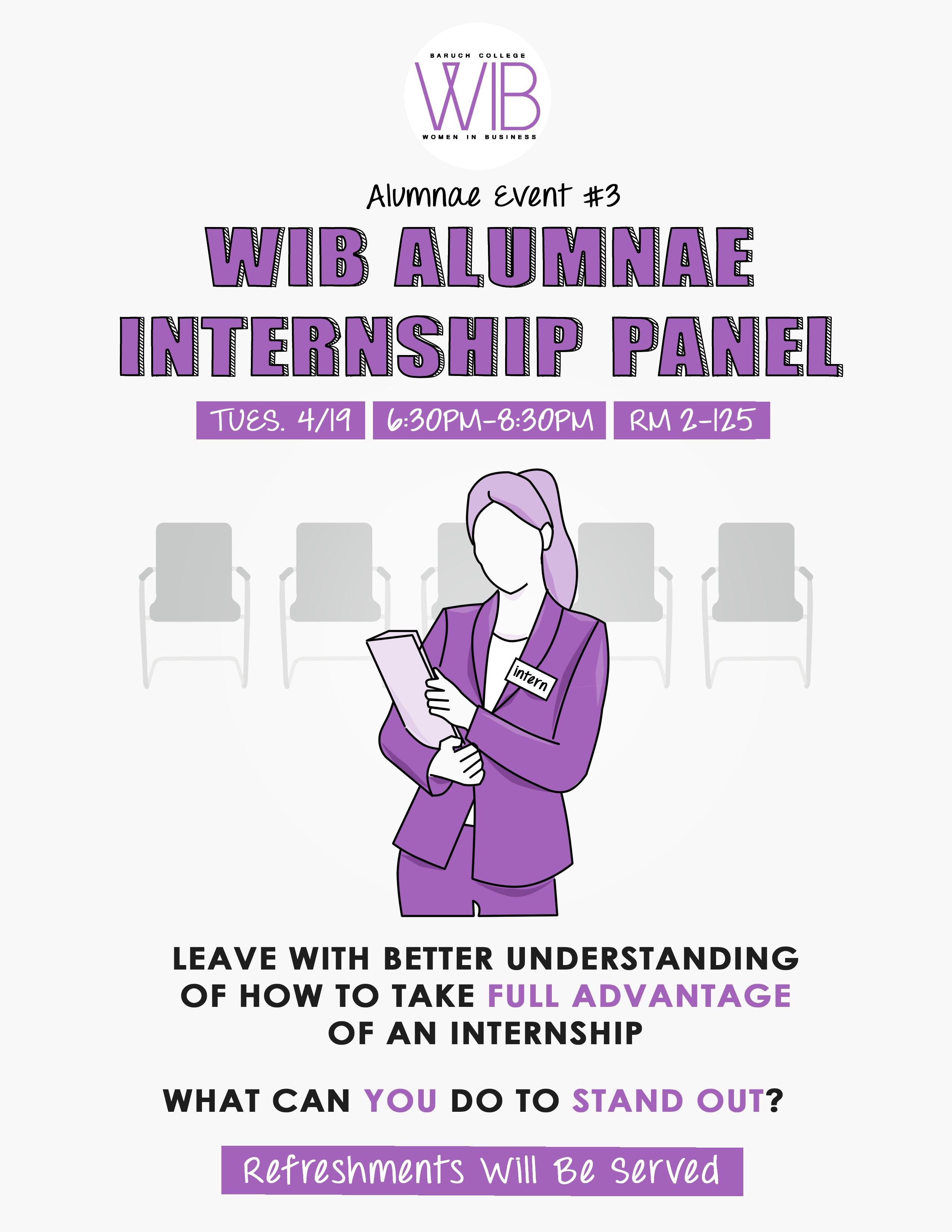 Internship Panel