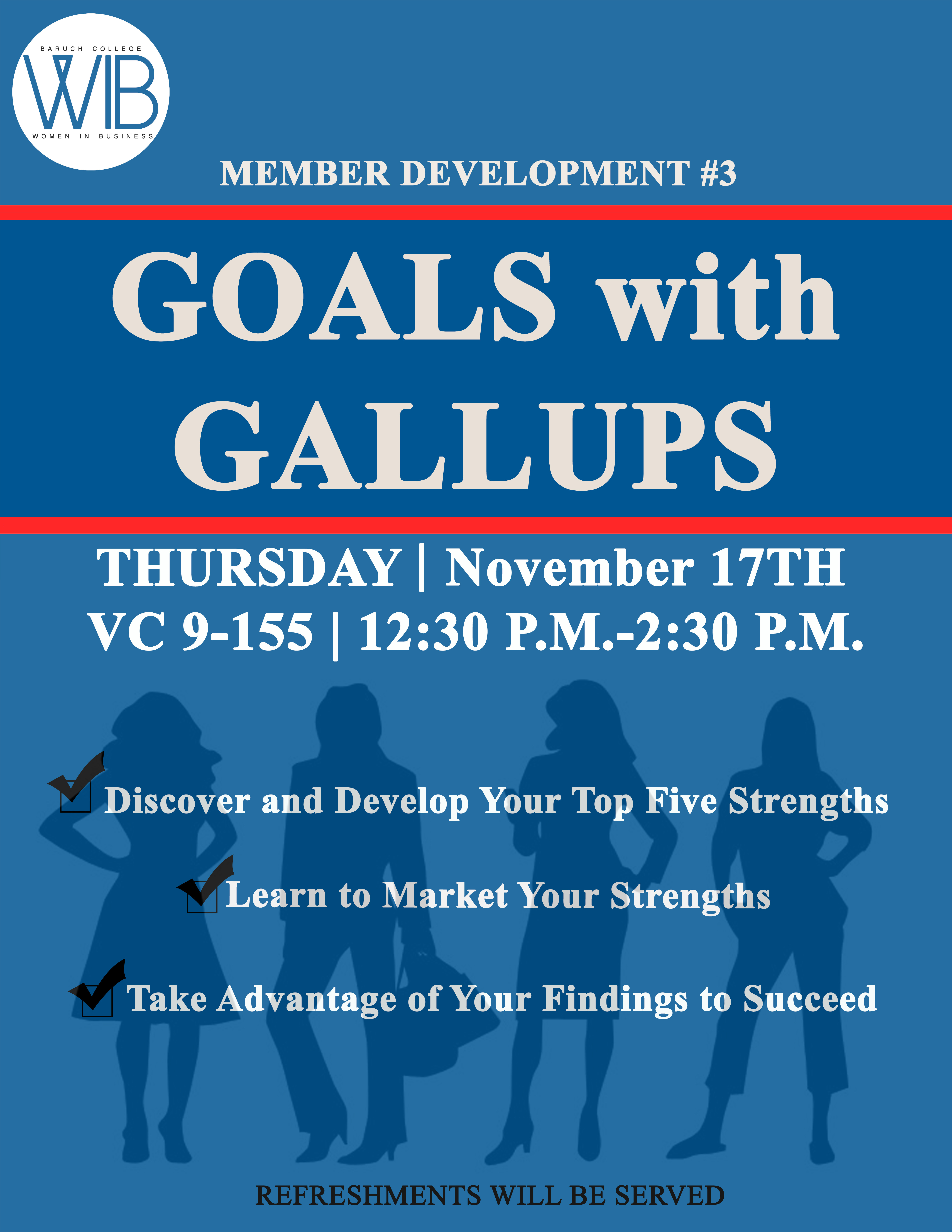 Goals with Gallups
