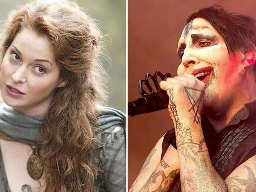 'Game of Thrones' Oyuncusu, Marilyn Manson'a Cinsel Saldırıdan Dava Açtı