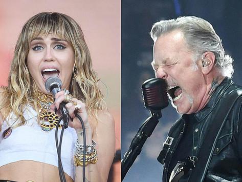 """Miley Cyrus, Elton John ve Chad Smith'in Metallica'dan """"Nothing Else Matters"""" Coverını Dinleyin!"""