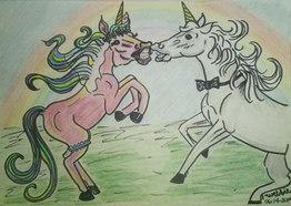 Sassy Unicorn Love