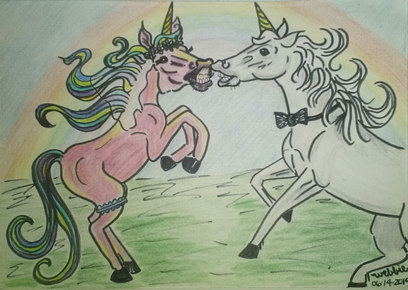 Sassy Unicorn Love