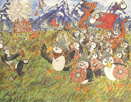 Puffin Pillage