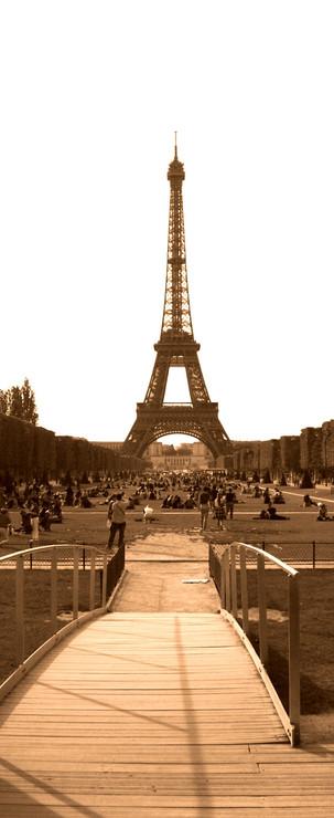 Tour Eiffel da Champs de Mars