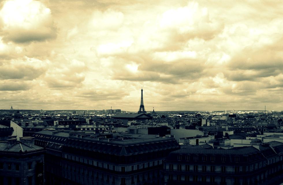 Nuvole e Tour Eiffel