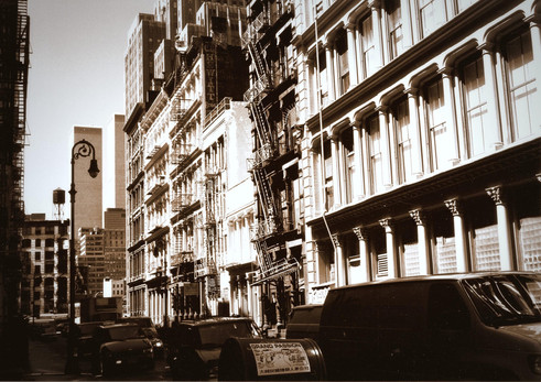 Edifici e torri gemelle