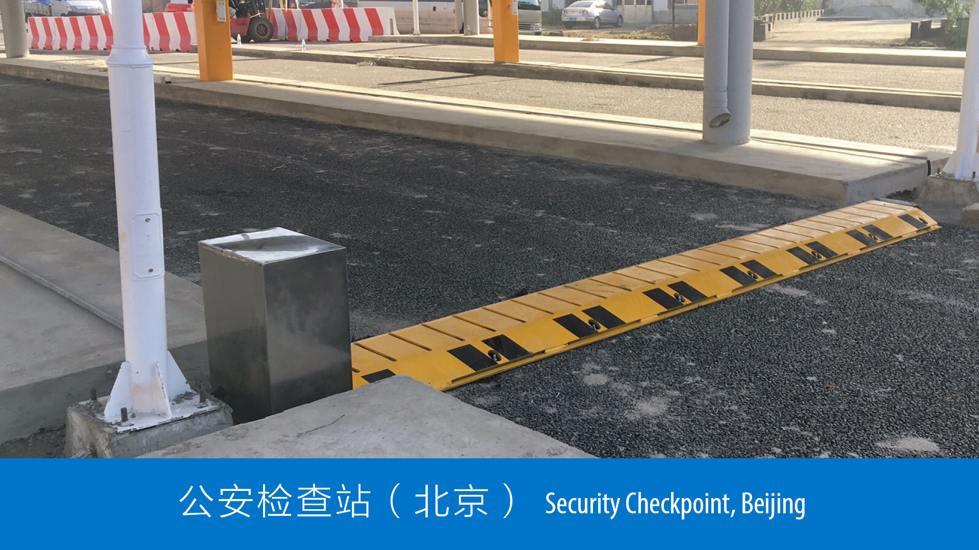 Punto de control de seguridad - Beijing