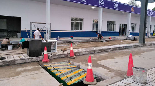 Punto de control de seguridad-Zhengzhou