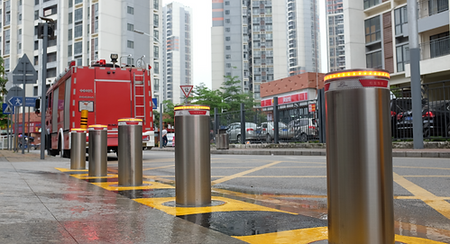 Security Bollards for school