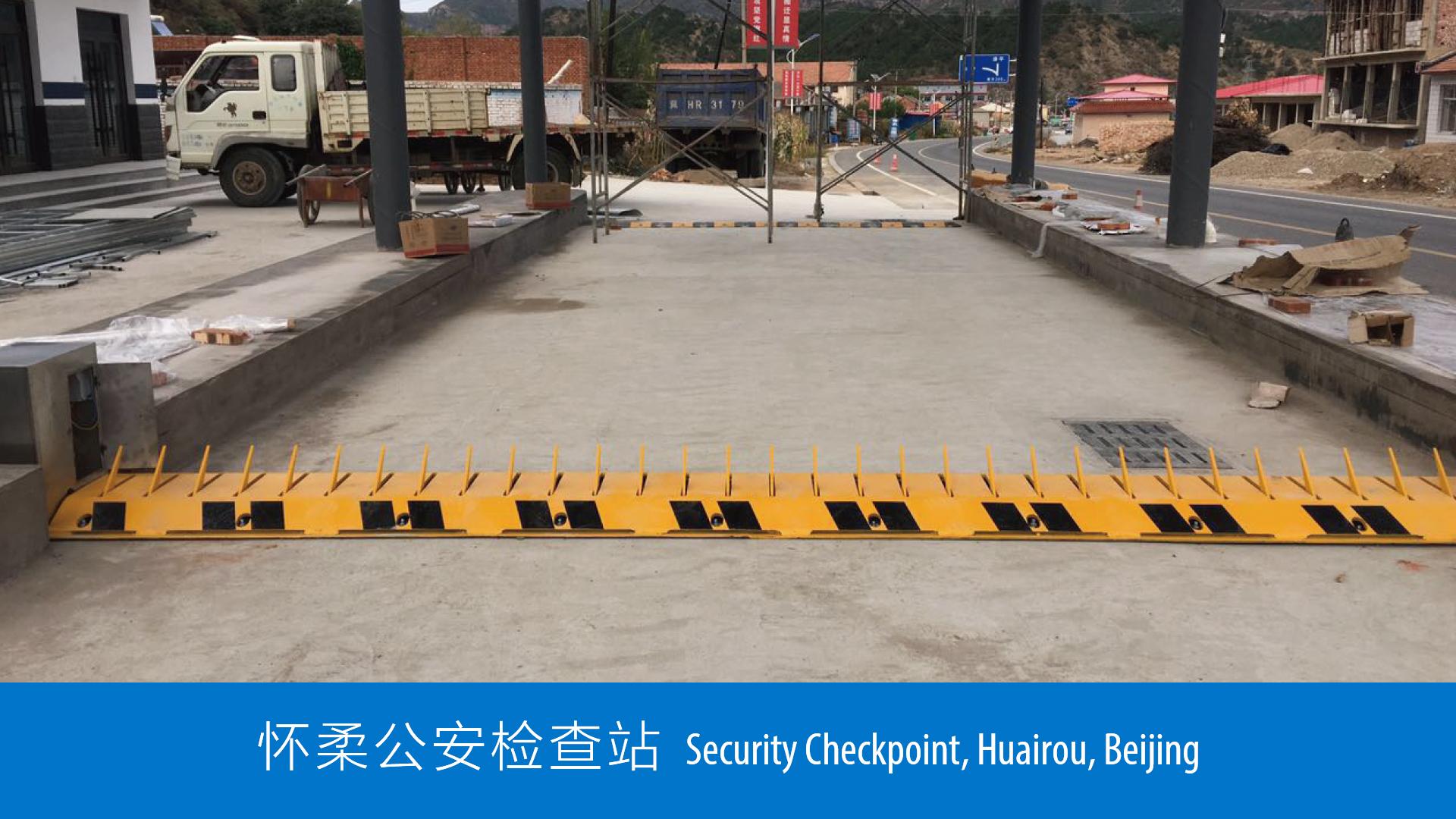 Tyre killer - Security Checkpoint - Beij