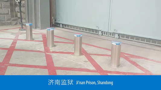 Security bollards' case show