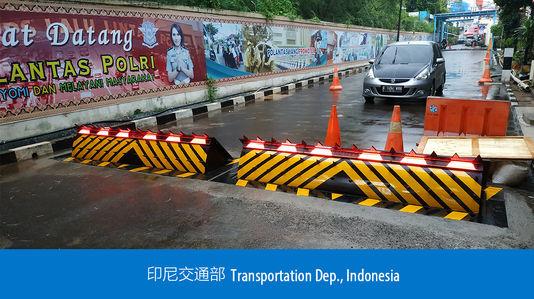 Dep. De transporte - Indonesia