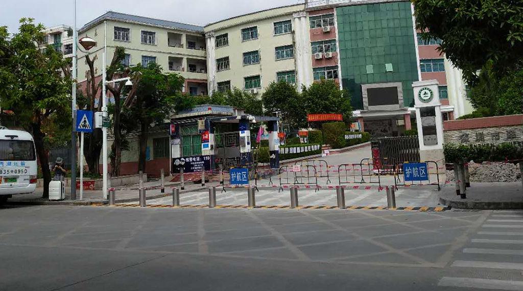 Security bollards' case show