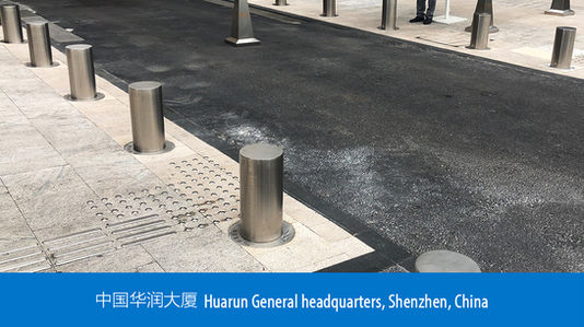 Removable Bollards - Huarun General headquarters