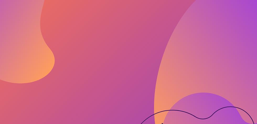 Pink and Orange Gradient Graphic Artist